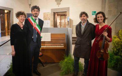 Inaugurazione Pianoforte per Palazzo Vecchio